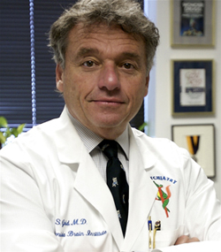 Mark Gold, M.D., an international authority on addiction medicine, and chairman of the University of Florida College of Medicine's department of Psychiatry.  Photo by Sarah Kiewel/University of Florida