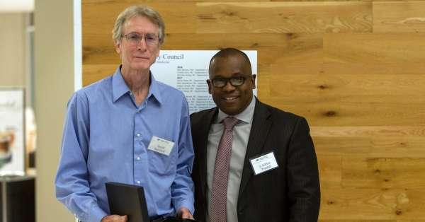 Dr. David Borchelt and Dr. J. Adrian Tyndall