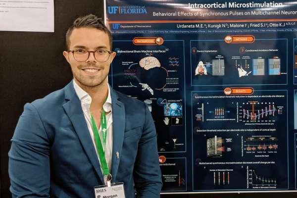 Neuroscience Ph.D. student Morgan Urdaneta
