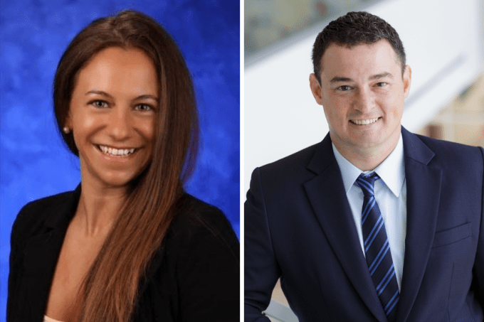 Jessica Kraft and Doctor Adam Woods