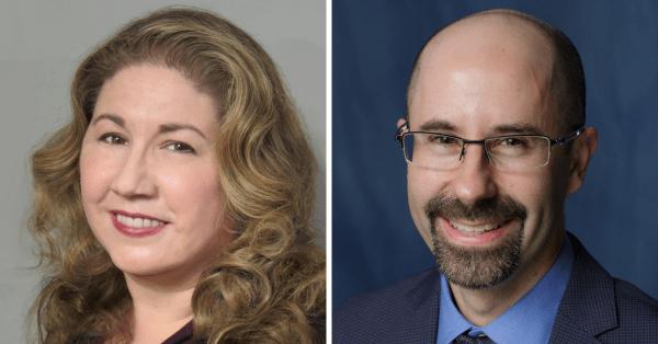 Doctors Jennifer Bizon and Barry Setlow