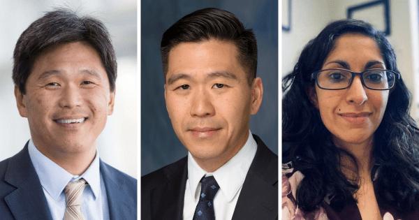 Doctors Brian Hoh, Daniel Hoh and Laura Ranum